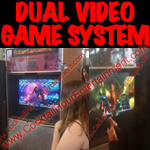 dual video game system button